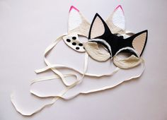 Masque renard * Lucille Michieli