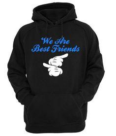 we are bestfriends1 HOODIE #hoodie #clothing #unisexadultclothing #hoodies #grapicshirt #fashion #funnyshirt