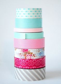 Wacky for washi!  ...what is it with this stuff? I can't get enough!