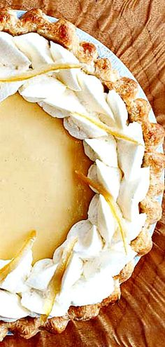 Lemon Velvet Cream Pie