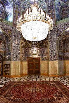 Allahverdikhan  Porch,Imam Reza shrine, Mashhad, Iran (Islamic Art)
