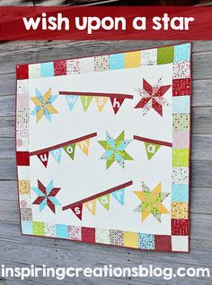 Moda Bake Shop: Wish Upon a Star Quilt  Free pattern @ModaFabrics @sweetwater
