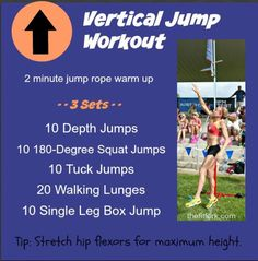 Plyometric Power Workout - How To Increase Your Vertical Jump Plyo Power Workout - How To Increase Your Vertical Jump - plyometric exercises that focus on explosive leg strength, good for basketball, volleyball and all-around functional fitness - Vertical Gym, Vertical Jump Workout, Vertical Jump Training, Volleyball Training, Volleyball Workouts, Gym Workouts, Coaching Volleyball, Summer Workouts, Volleyball Quotes
