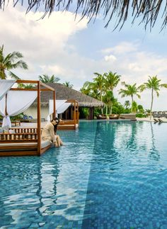 The Residence Maldives~ Take it all in. Our next destination @Emily Schoenfelder