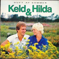 """Keld & Hilda. LP. """"Duft af sommer"""". LP indeholder sangen """"Søndag"""", som er en dansk version af """"Sonntag"""" (Østrigs Bidrag fra Eurovision 1982)"""