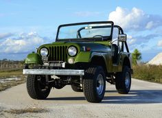 1969 Jeep for sale on BaT Auctions - closed on February 2019 (Lot Cj Jeep, Stainless Steel Hood, Flagler Beach, Brake Shoes, Black Hood, Engine Types, Trailer Hitch, New Tyres, Classic Cars Online