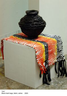 Art with plastic bags