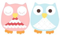 Girl & Boy Owl