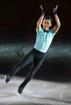 Florent Amodio . France . Ice skating