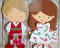 Merry Christmas: Boy OR Girl Dress Out Outfit and Pajamas