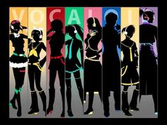 """Magnet"" 8 Vocaloid Chorus: Gumi, Rin, Meiko, Miku, Luka, Kaito, Len, Gakupo"