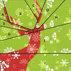 Ellison Lane : Tutorial: Holiday Pillow paper pieced