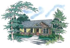 This 1 story Country features 876 sq feet. Call us at 866-214-2242 to talk to a House Plan Specialist about your future dream home!