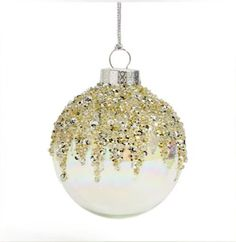 Pallina glitter in vetro trasparente Inexpensive Christmas Gifts, Christmas Crafts For Gifts, Christmas Tree Themes, Noel Christmas, Christmas Projects, Magical Christmas, Christmas Stuff, Christmas 2019, White Christmas