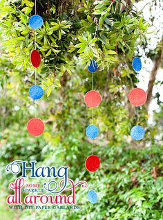 Hang Some Sparkle All Around with DIY Paper Garlands