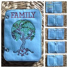 My Family Felt Quiet Book by little sacred mountain on etsy
