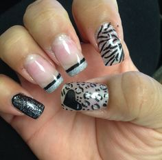 Nails Fast & Easy leopard,cheetah