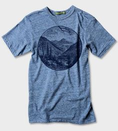 Valley T-Shirt by Arquebus Clothing on Scoutmob Shoppe