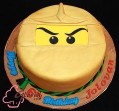 Ninjago Cake--Jake and Ben's favorite!!!