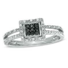 Black and White Diamonds!! love