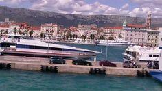 Split, Port w centrum miasta. #chorwacja #split #dalmacja http://www.dailymotion.com/video/x3ojkbv_port-w-splicie_travel