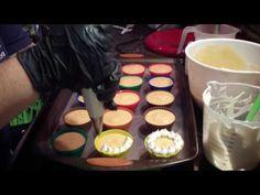 Making Santa's Hat Cupcake Soaps - YouTube
