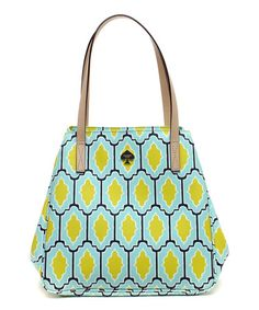 Look at this #zulilyfind! Seaglass & Moonstone Cabana Tile Sidney Tote by Kate Spade #zulilyfinds