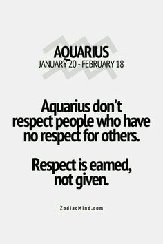 Zodiac Mind - Your source for Zodiac Facts Aquarius Traits, Aquarius Love, Aquarius Horoscope, Aquarius Quotes, Aquarius Woman, Zodiac Signs Aquarius, My Zodiac Sign, Zodiac Quotes, Zodiac Facts