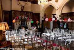 Great Hall with Chivari Chairs to seat 100