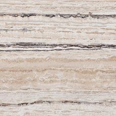 ALABASTRINO RUSTIC    VEIN CUT, POLISHED & FILLED         Off White, Ivory Beige and smoke color soft black layered in a monochromatic linear direction.