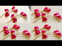 Saree Tassels Designs, Saree Kuchu Designs, Designer Blouse Patterns, Fancy Blouse Designs, Blouse Neck Designs, Designs For Dresses, Diy Tulle Skirt, Hand Work Design, How To Make Tassels