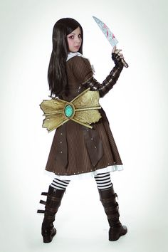 Alice Madness Returns cosplay - Steamdress by ~thecrystalshoe on deviantART