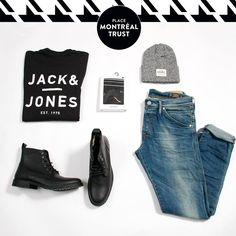 #PMTLook  Un #look parfait signé JACK & JONES. A perfect look signed #JackJones. #OOTD #Fashion #Shopping #Mtl #Men