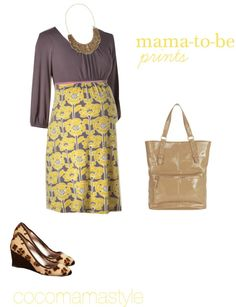 Daily dose: mama-to-be prints
