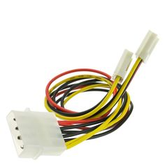 15 Pin SATA Power Y Cable 1 Pack ACL 14 Inch Serial ATA Male to Dual Serial ATA Female