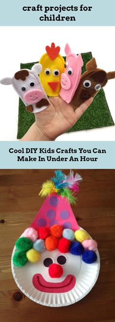 Follow the link to get more information on craft projects for children