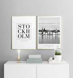 Stockholm City, posters