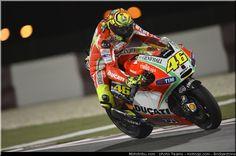 Valentino Rossi, Qatar 2012