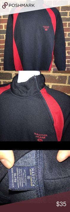 Nautica Jeans fleece ski pullover jacket 90% Polyester Nautica Jeans Ski/sailing fleece pullover. Excellent condition. Men's XL. Nautica Jackets & Coats Ski & Snowboard