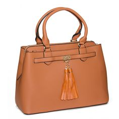 Brown Boxy Satchel from HandPicked