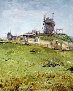 Van Gogh - Moulins à Montmartre