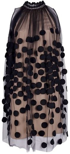 Stella McCartney                    Dotted Gauze Dress