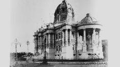 Palácio Monroe. Foto: Augusto Malta (s/d)/Acervo Arquivo Geral da Cidade do Rio de Janeiro