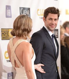That gaze. | 19 Photos Of Emily Blunt And John Krasinski That Will Make You Believe In Love Again
