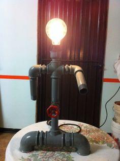 industrial pipe lamp