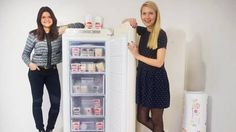 Sofie and Victoria are two entrepreneurs who took the frozen yogurt to Sweden.Yollibox is an organic Yogurt consisting of more than 70% yogurt and low in fat. All Yolliboxes are hand-filled, have recyclable packaging and is obviously made of real fruits and berries.