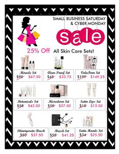 Cyber Monday Skin Care.  Contact me for your $$ off. strutztami45@gmail.com, or visit my site: www.marykay.com/tamistrutz