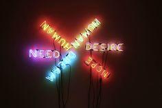 Human/Need/Desire. Bruce Nauman. 1983.