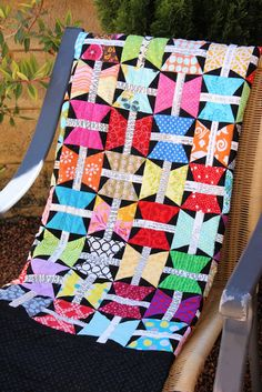 Butterfly Quilt - A Spoonful of Sugar