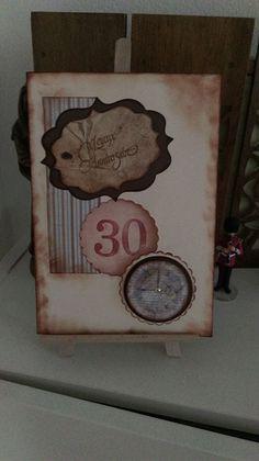 Carte ''30'' réalisée par ChardoSa